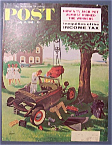 Saturday Evening Post Cover By Hughes - July 15, 1961