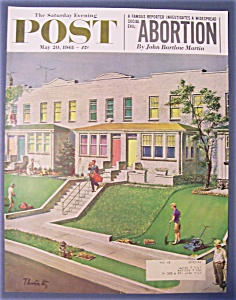 Saturday Evening Post Cover By Utz - May 20, 1961
