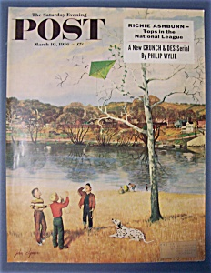 Saturday Evening Post Cover By Clymer - March 10, 1956