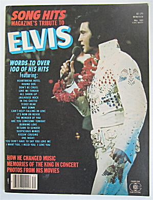 Song Hits Magazine-1977-tribute Elvis Presley