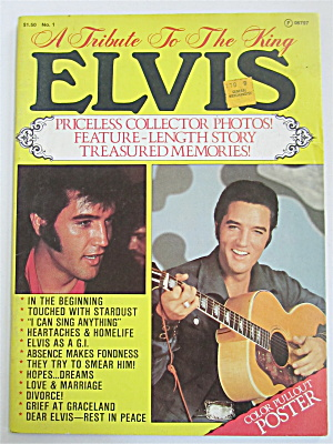 A Tribute To The King Elvis Magazine-1977-elvis Presley