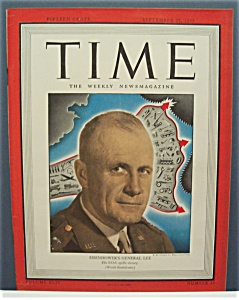 Time Magazine - Sept 25,1944 - Eisenhowers' General Lee