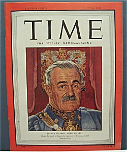 Time Magazine - July 16, 1945 - India's Lord Wavell