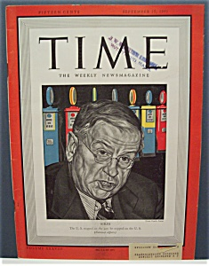 Time Magazine - September 15, 1941 - Ickes