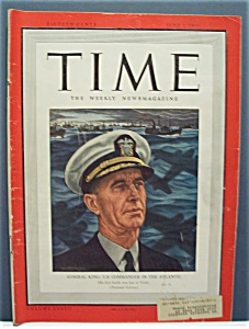 Time Magazine - June 2, 1941 - Admiral King