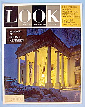 Look Magazine-December 31, 1963-John F. Kennedy (Image1)