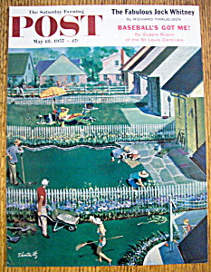 Saturday Evening Post Cover / Thornton Utz-may 18, 1957