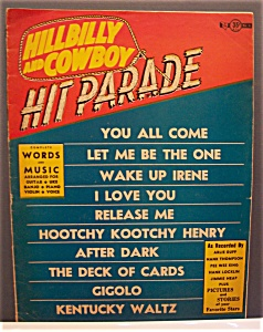Hillbilly & Cowboy Hit Parade Magazine - 1953