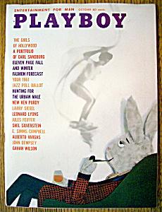 Playboy Magazine-October 1960-Kathy Douglas (Image1)