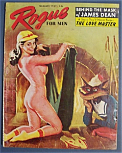 Rogue Magazine For Men - 1957