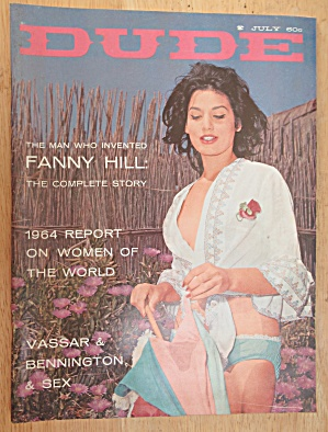 The Dude Magazine July 1964 Fanny Hill  (Image1)