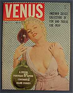 Venus Magazine-1959-collection Of Fun & Frolic For Men