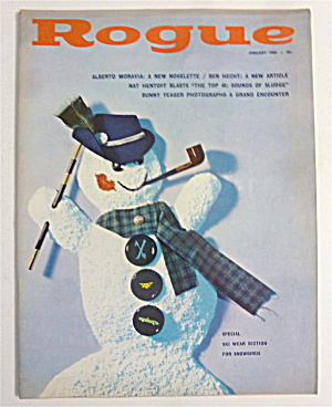 Rogue Magazine - January 1960 - Guinevere