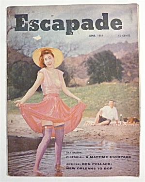 Escapade Magazine - June 1956 - Virginia De Lee  (Image1)