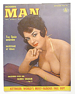 Modern Man Magazine - September 1960 - Glenda Graham (Image1)
