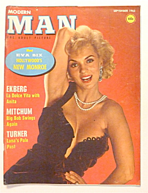 Modern Man Magazine-september 1963-erika Hausner