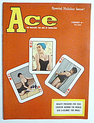 Ace Magazine - February 1959 - Joan Grant
