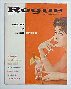 Rogue Magazine - August 1960 - Lisa Gibson