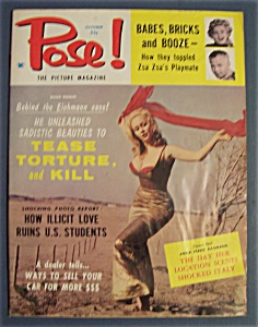 Pose The Picture Magazine - October 1960