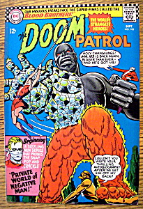 The Doom Patrol Comic #106-september 1966
