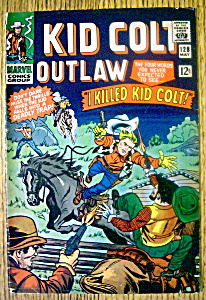 Kid Colt Outlaw Comic #128-May 1966 (Image1)