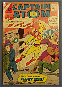 Captain Atom Comics # 78 - December 1965