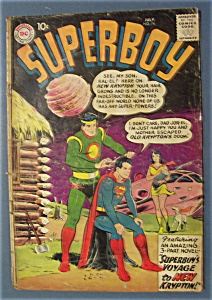 Superboy Comics  # 74 - July 1959 (Image1)