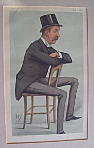 Hon. Oliver George Paulett Montagu Vanity Fair Print (Image1)