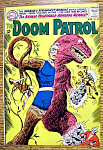The Doom Patrol Comic #89 - August 1964 (Image1)