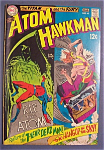 The Atom & Hawkman Comics # 41 - February-march 1969
