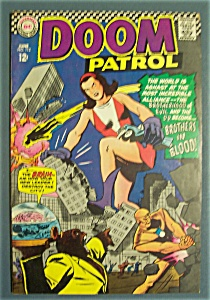 Doom Patrol Comics # 112 - June 1967