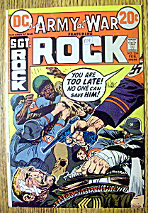 Sgt Rock (Army At War) Comic #254-february 1973