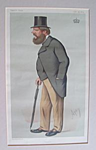 Vanity Fair Print Prince Edward of Sax-Weimar Oct 1875 (Image1)