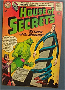 House Of Secrets Comics # 68 - September-october 1964