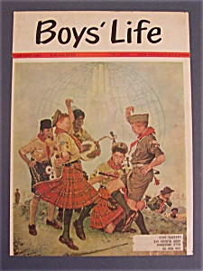 Norman Rockwell February 1963 Boys' Life Cover