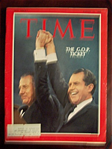 Time Magazine - August 16, 1968 - The G.o.p. Ticket