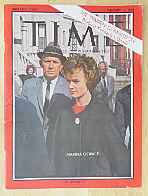 Time Magazine - February 14, 1964 - Marina Oswald (Image1)
