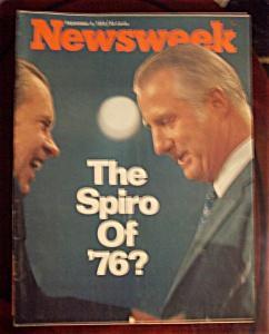 Newsweek Magazine - Sept 4, 1972 - The Spiro Of '76? (Image1)