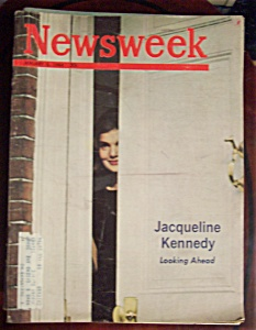 Newsweek Magazine -january 6, 1964- Jacqueline Kennedy