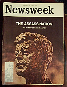 Newsweek Magazine - October 5, 1964 - The Assassination