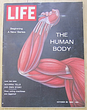 Life  Magazine-October 26, 1962-The Human Body (Image1)