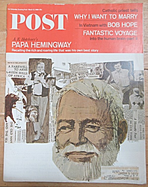 Saturday Evening Post Magazine - March 12, 1966
