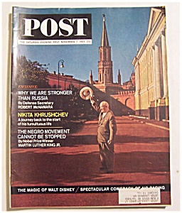 Saturday Evening Post Magazine - November 7, 1964