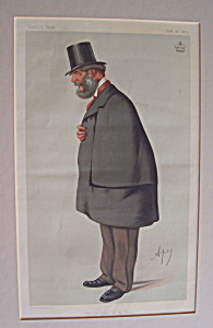 Vanity Fair Ape Print Lord Forester October 16, 1875