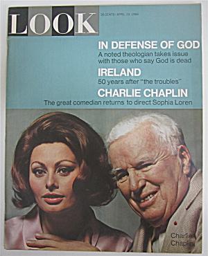 Look Magazine April 19, 1966 Loren & Chaplin (Image1)