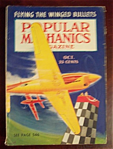 Popular Mechanics Magazine-october 1938-winged Bullets