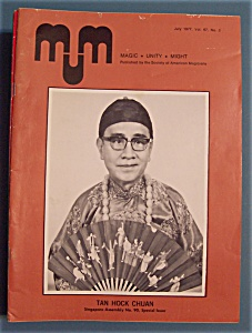 Magic Unity Might MUM Magician Magazine - July 1977 (Image1)
