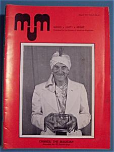 Magic Unity Might MUM Magician Magazine - August 1977 (Image1)