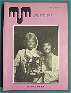 Magic Unity Might MUM Magician Magazine - April 1978 (Image1)