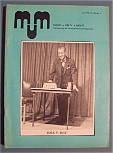 Magic Unity Might MUM Magician Magazine - July 1978 (Image1)
